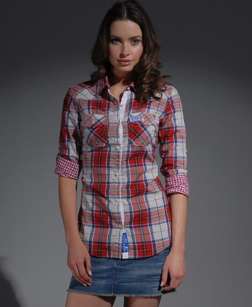 New-Womens-Superdry-Sheer-Calamity-Shirt