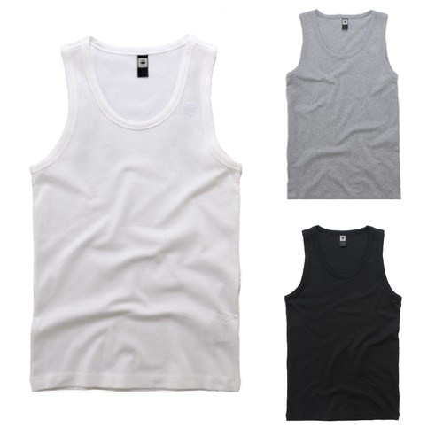 New-Mens-G-Star-Base-Tank-Top-T-Shirt