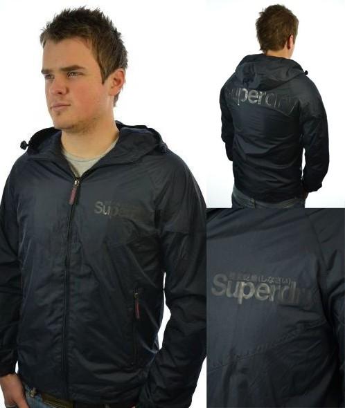 New-Mens-Superdry-Solid-Gel-Stormbreaker-Jacket