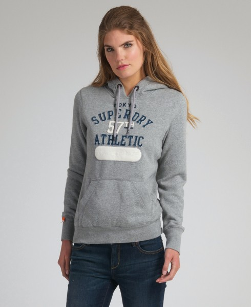 New-Womens-Superdry-Tokyo-Athletic-Applique-Hoodie