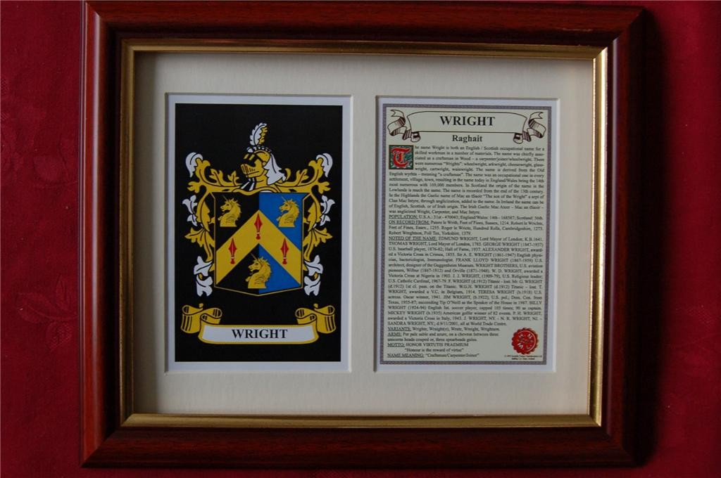 WRIGHT-Family-Coat-of-Arms-Crest-History-Available-Mounted-or-Framed