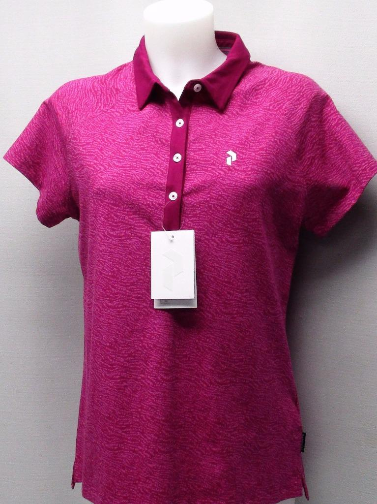 New Ladies Xl Peak Performance Short Sleeve Cotton