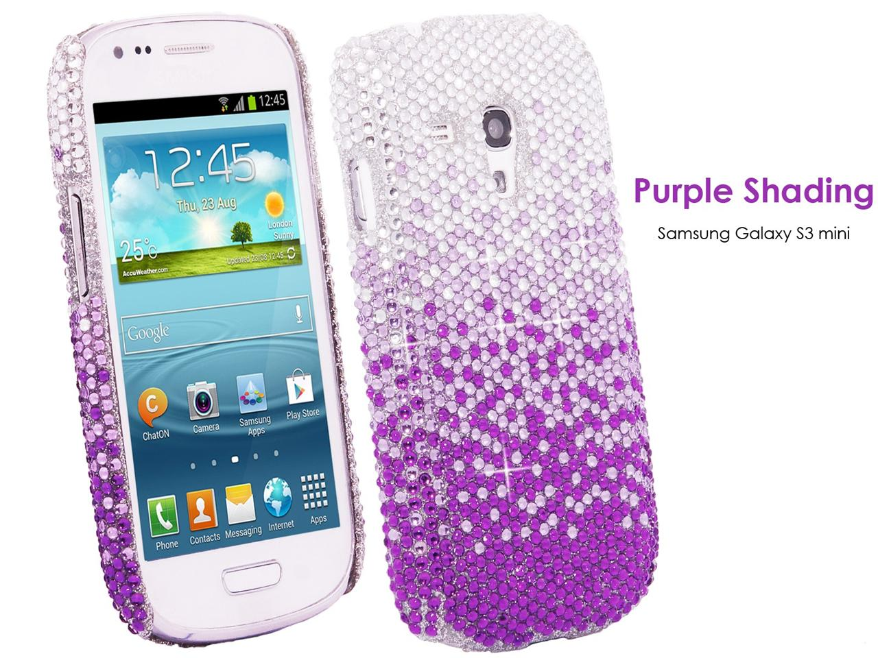 DIAMOND RHINESTONE GEM BLING BLING PHONE CASE COVER ...