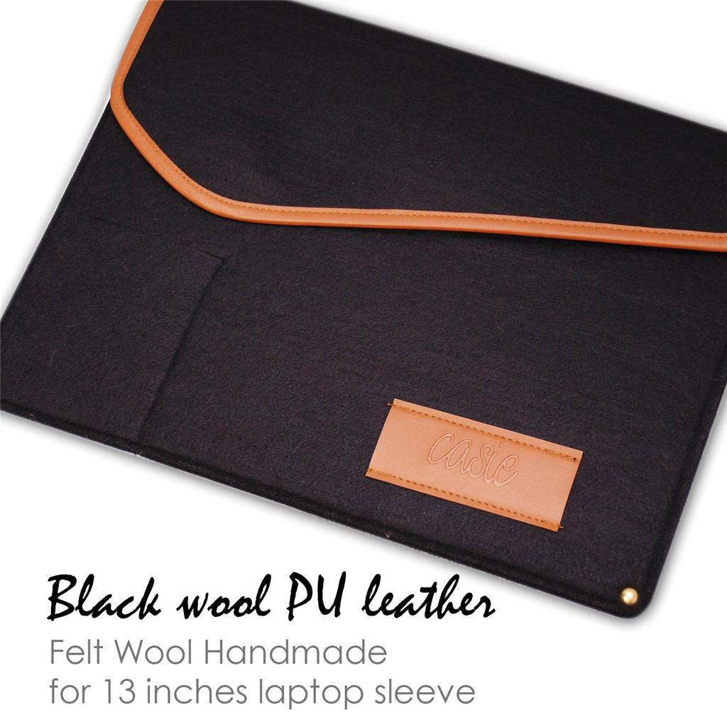 13 3 zoll filz h lle ultrabook laptop tasche macbook pro. Black Bedroom Furniture Sets. Home Design Ideas