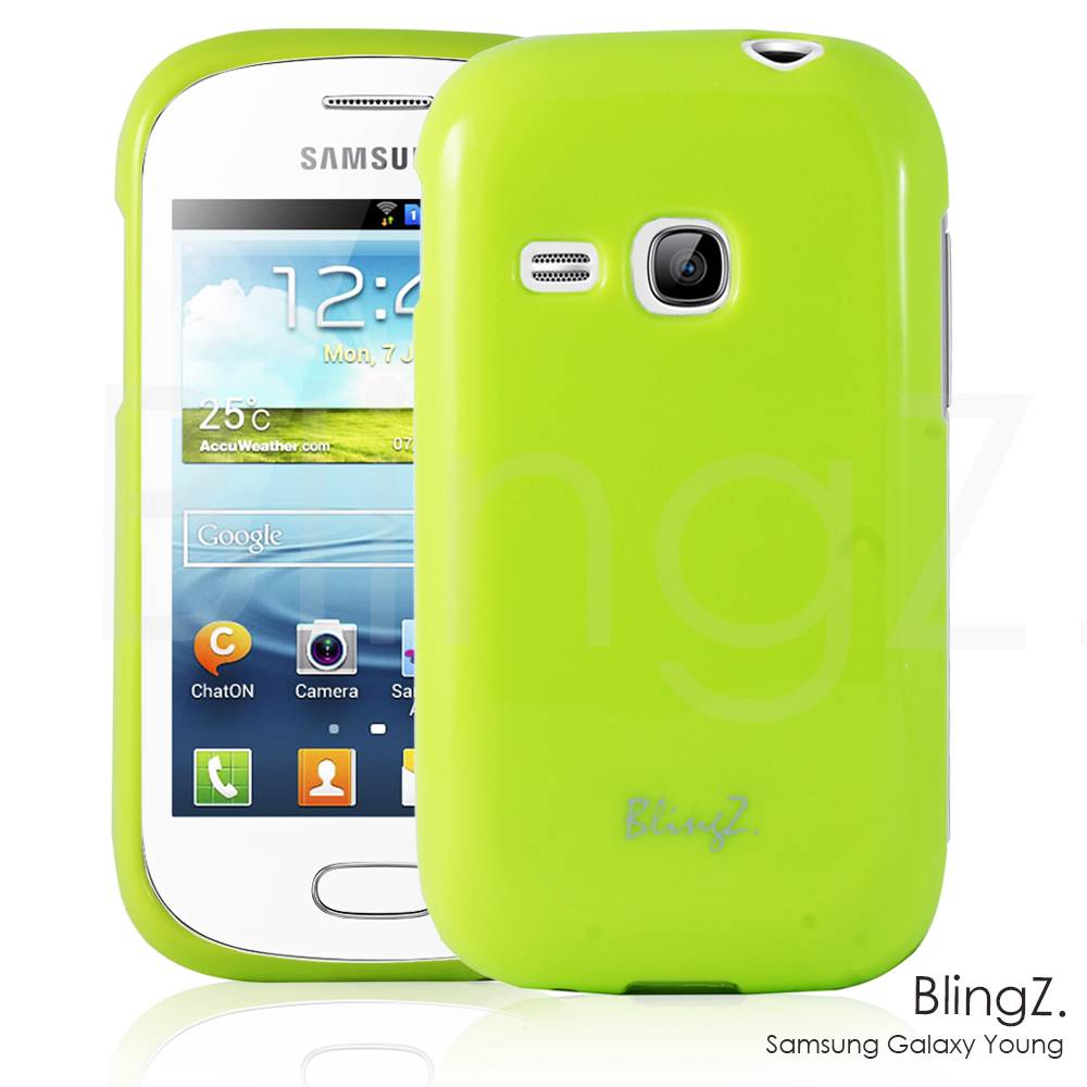 NEW JELLY SILICONE TPU RUBBER GEL CASE COVER FOR SAMSUNG GALAXY YOUNG S6310