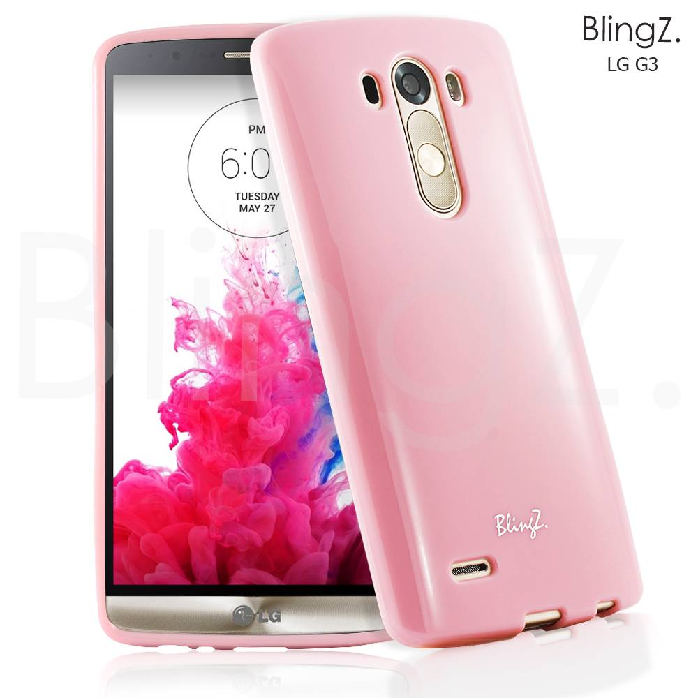 NEW JELLY SLIM THIN SILICONE TPU RUBBER GEL CASE COVER FOR LG G3 D855 850