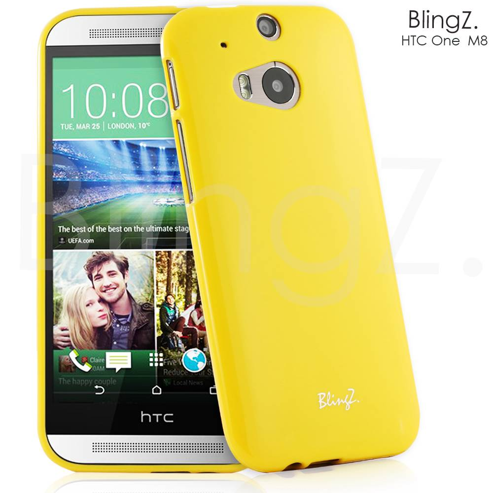 New TPU Slim Gel Jelly/Rubber Phone Case Cover For HTC One M8