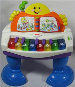 Fisher Price Laugh & Learn Baby Grand Musical Piano EUC Cyber Sale