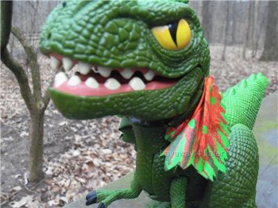 screature interactive dinosaur instructions
