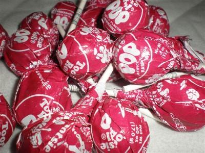 Details about Tootsie Pop Raspberry - Raspberry Tootsie Pops 60 pops