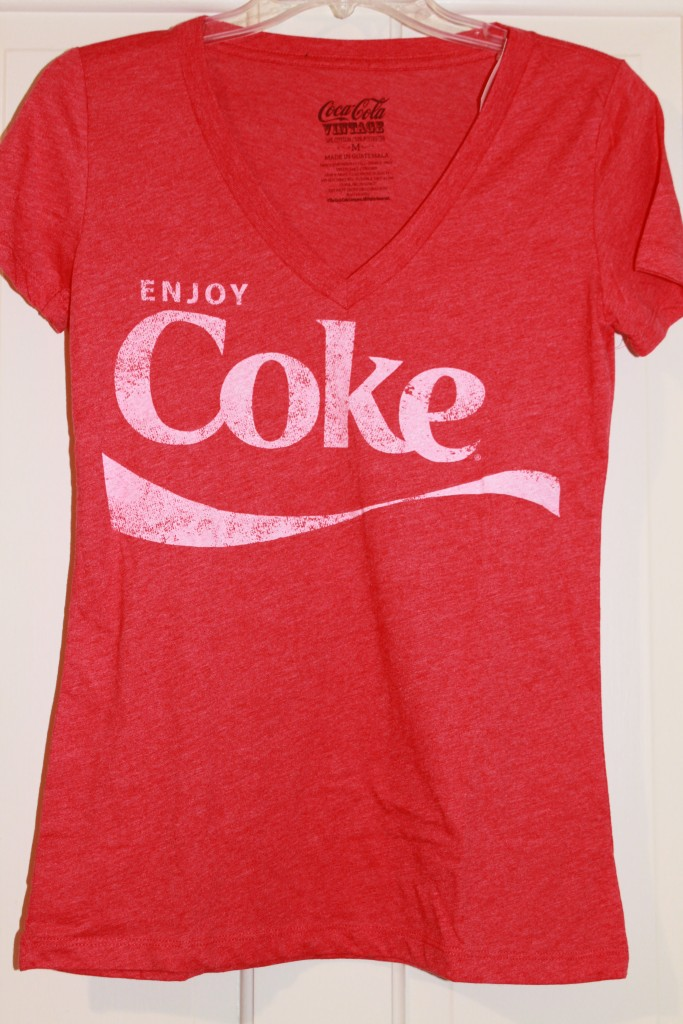 coke t shirt on shoppinder. Black Bedroom Furniture Sets. Home Design Ideas