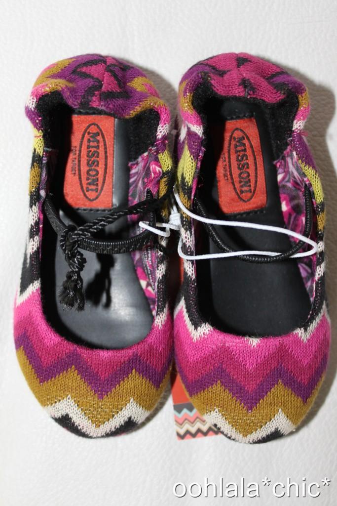 Missoni for Tar Baby Toddler Girl s Knit Zig Zag Ballet