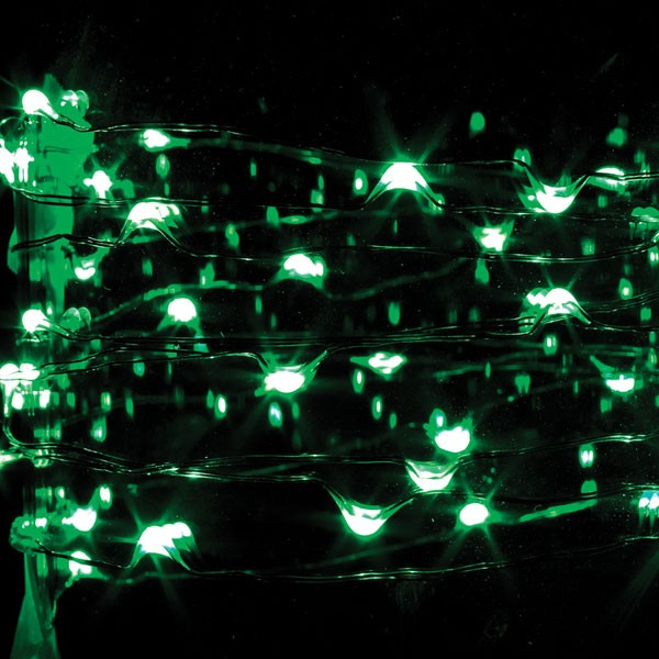 New 9 ft 36 Lights Battery Multi Function Micro LED Light String w Timer eBay