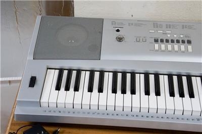 yamaha portable grand dgx 220 electronic keyboard synthesizer g124 ebay