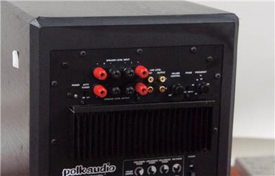 polk audio subwoofer psw 125 manual
