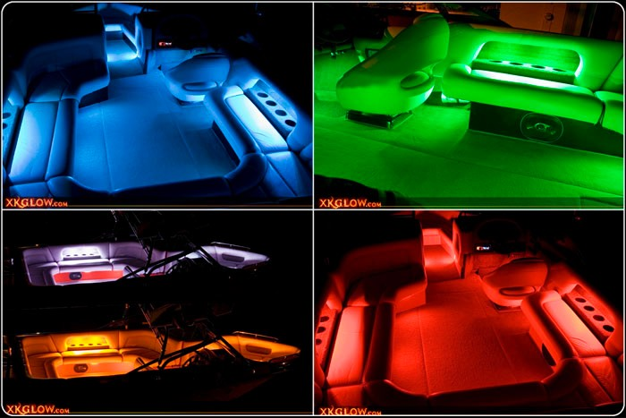 Pontoon Boat Interior Lighting
