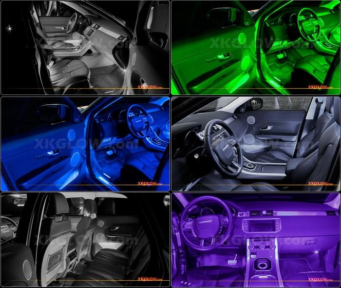 Universal White 36 Led 4pc Car Interior Truck Bed Trunk Neon Accent Light Kit Ebay