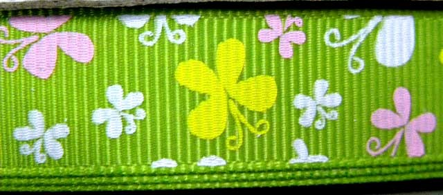 12YDS-BUTTERFLY-GROSGRAIN-RIBBON-GIFT-WRAP-3-5-R0075