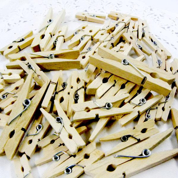 Ml088 x upick assorted size wood clip nature supplies for Where to buy cheap craft supplies
