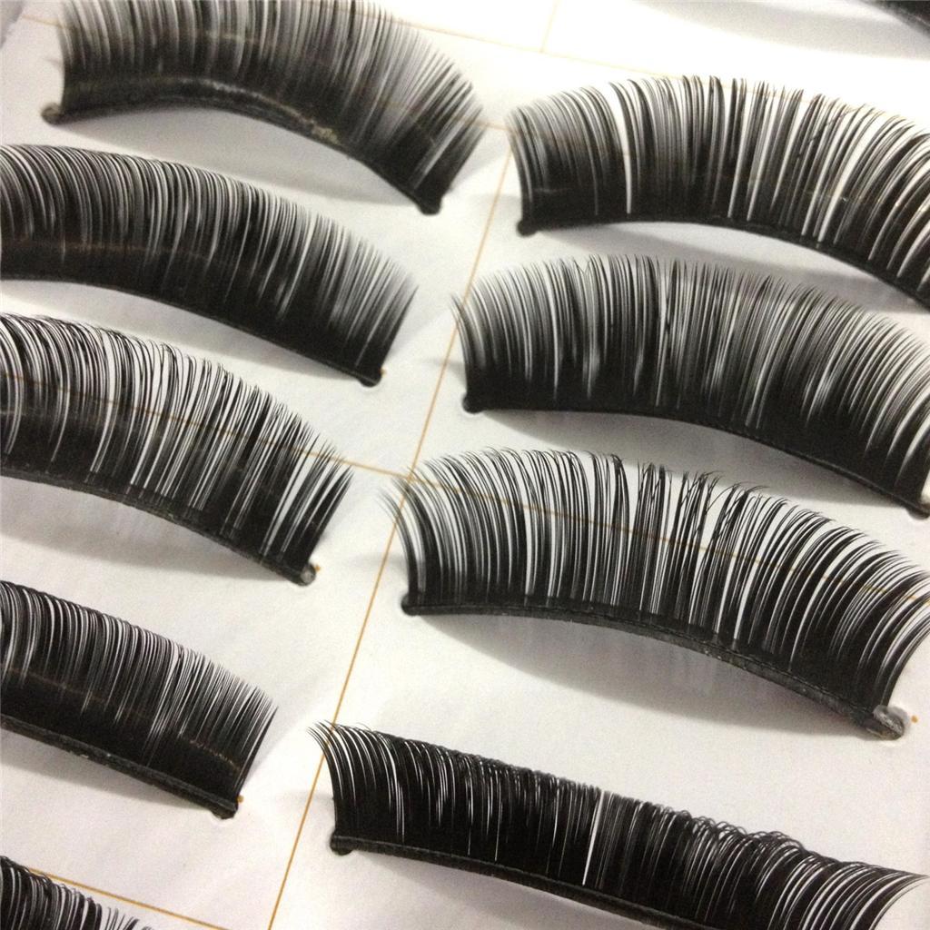 A0671P-x10Pairs-UPICK-Long-Black-Natural-False-Fake-Eyelashes-Lashes-Full-MakeUp thumbnail 8