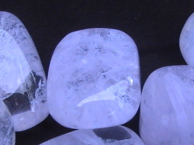 Light Purple Marble : Tumbled stones obsidian translucent light purple ebay