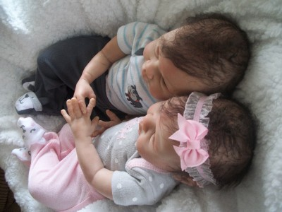 Reborn Twin Preemie Babies Girl And Boy Taylor And Tommy