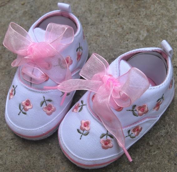 Pink-kids-toddler-baby-girl-tennis-shoes-size-2-3