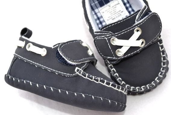 new blue infant toddler baby boy shoes size 2 3