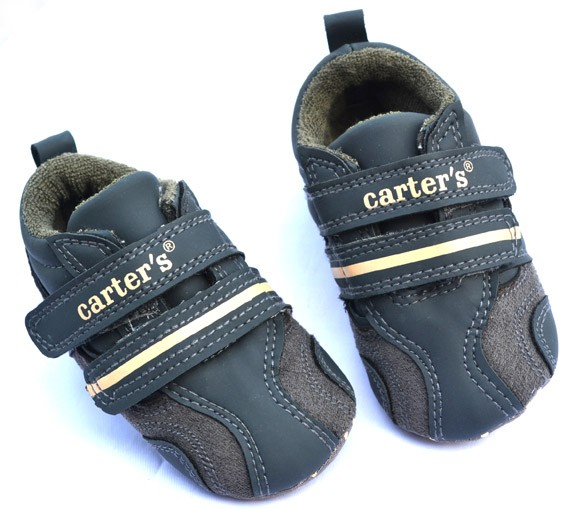 Dark blue new infants toddler baby boy walking shoes size