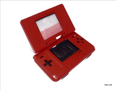 Nintendo DS Red Replacement Shell Housing w/ Stylus Pen