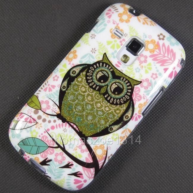 Soft Owl Case Cover Bag For Samsung Galaxy Trend Plus ...
