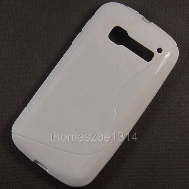 TPU Soft Rubber Case Back Cover Skin Pouch For Alcatel Pop C5 One Touch OT 5036D