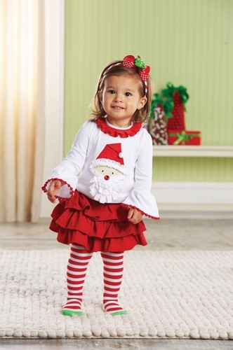 MUD PIE Santa Tab Skirt Set 2T/3T and 12-18months Red Girls Christmas Outfit NWT in Clothing, Shoes & Accessories, Baby & Toddler Clothing, Girls' Clothing (Newborn-5T) | eBay