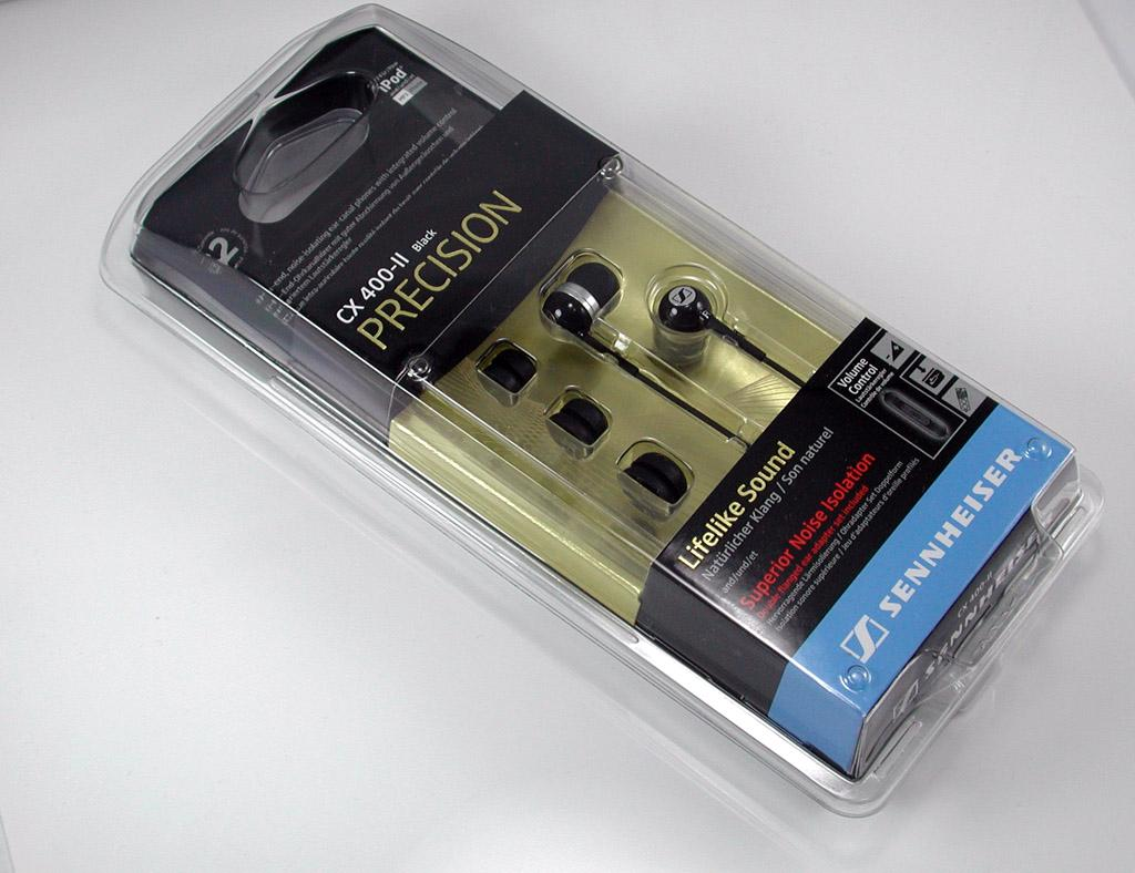 SENNHEISER-CX400II-Black-Earphones-for-Iphone-Ipod-MP3-SPECIAL-GOLD-EDITION