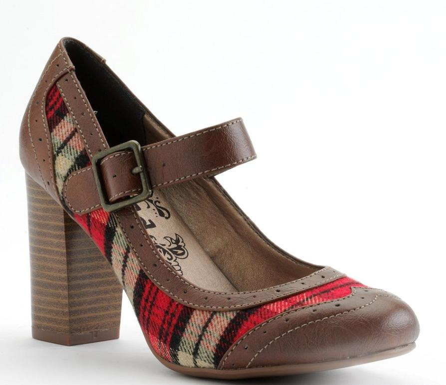 Details about New Women's Junior Sizes 6 7 9.5 10 Mudd Plaid Mary