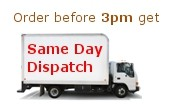 Order before 3pm get same day Dispatch