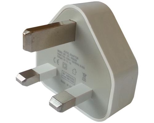 Brand New 3 Pin Usb Uk Mains Charger Adapter Plug For Apple Iphone 5