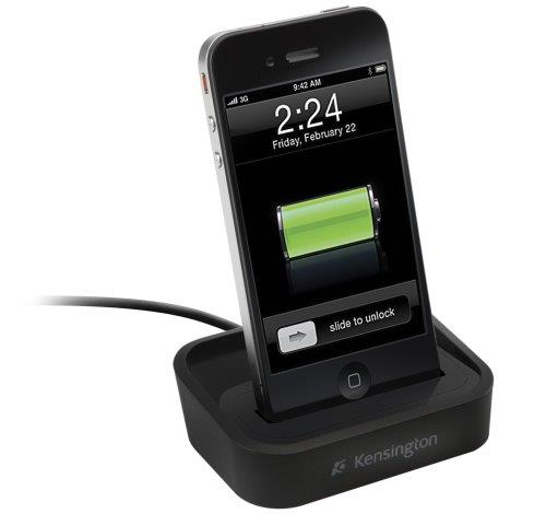 kensington iphone 4s 4 3gs 3g ipod touch charger charging docking station stand ebay. Black Bedroom Furniture Sets. Home Design Ideas