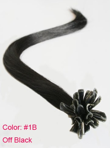 100S-PRE-BONDED-REMY-HUMAN-NAIL-U-TIP-HAIR-EXTENSIONS-GULE-STARIGHT-All-Color