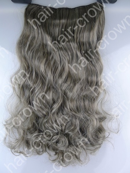 Women-039-s-Lady-Long-Curly-Wavy-Clip-In-on-SYNTHETIC-Hair-Extension-Lovly-Sexy-US