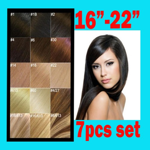 REMY-HUMAN-HAIR-EXTENSIONS-CLIP-IN-FULL-HEAD-16-034-18-034-20-034-22-034-24-034-in-All-Colors