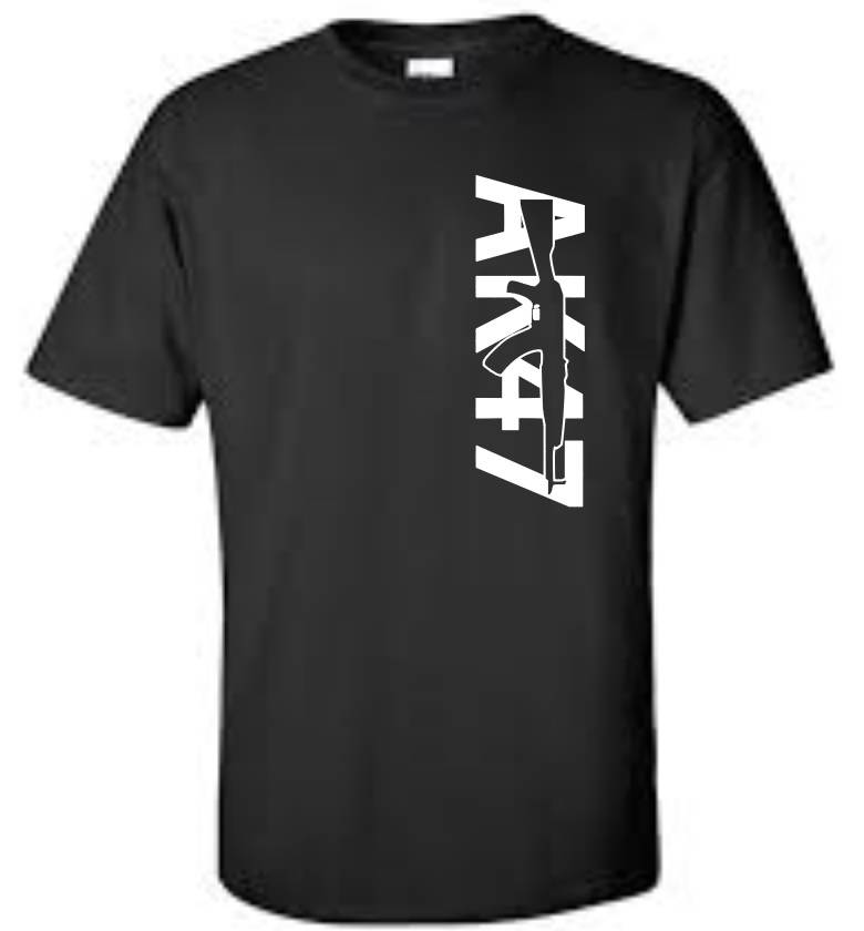 ak 47 big and tall t shirt 2nd amendment mens tee ebay