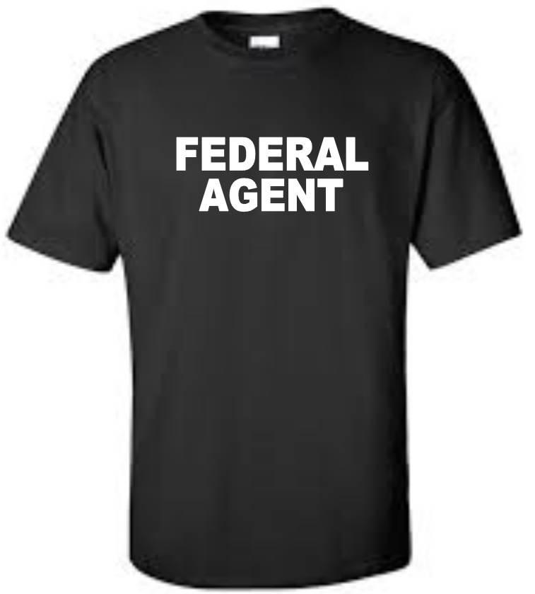 Federal Agent Atf Dea Police Officer Law Enforcement Big