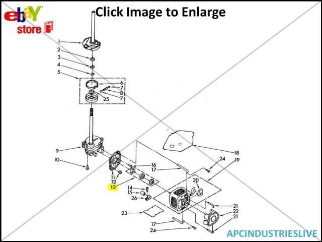 Genuine Whirlpool Washing Machine Motor Coupling Part 285753a Ebay