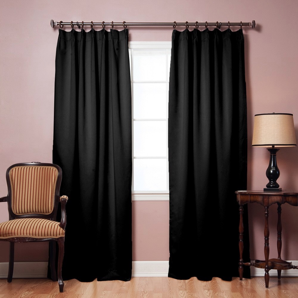 Pinch Pleat Blackout Curtains Eyelet Blackout Curtains