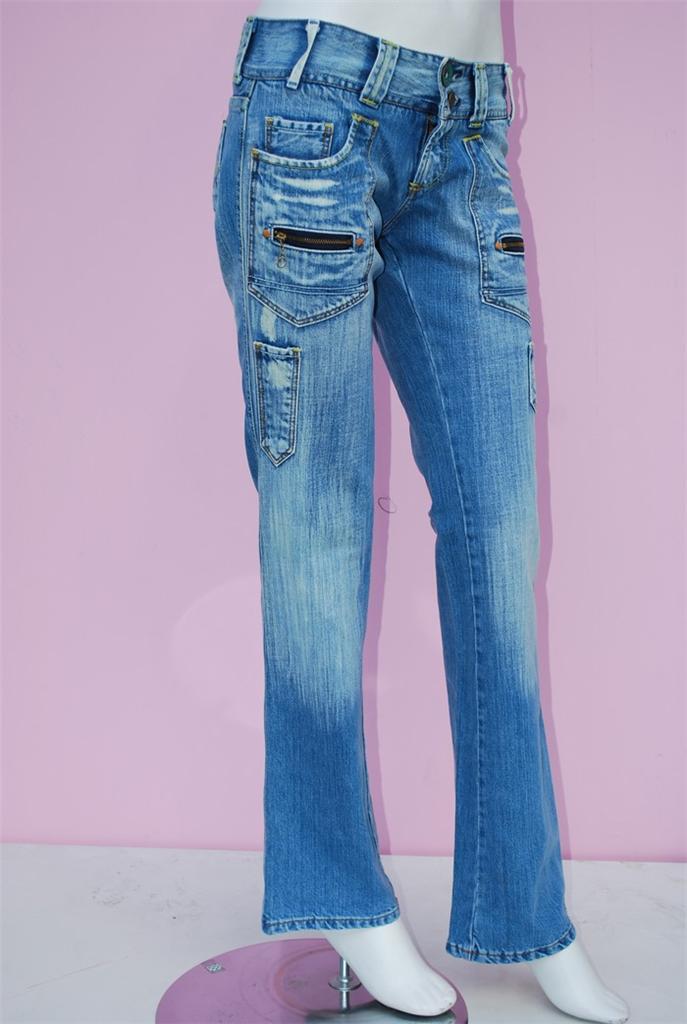 Jeans femme lois taille w 24 t32 34 ebay - Paypal remboursement frais de port ...