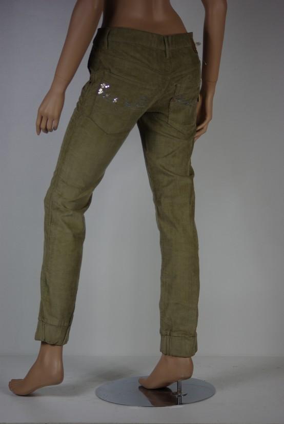 pantalon velours femme diesel modele joyze taille jeans w. Black Bedroom Furniture Sets. Home Design Ideas