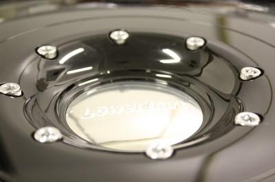 "Lowenhart LDR 22"" Black Wheels Rims Land Rover GMC"