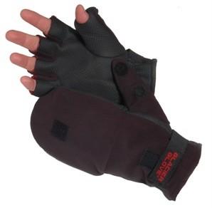 Alaska-River-Glacier-Fleece-Flip-Mitt-Windproof-Back-2mm-Neoprene-Palm-Gloves