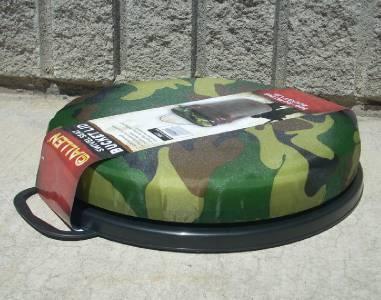 Allen camo camouflage foam swivel seat 5 gallon bucket lid for Fishing bucket seat